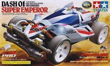 TAMIYA MINI 4WD DASH 01 SUPER EMPEROR MS CHASSIS - KIT 1/32 - ITEM 18632