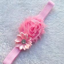 1x Kind Kinder Baby Mädchen Rose Blume Blume Haarspangen Hairbow Pro iGRYp