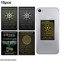 10pcs Negative Ion Anti Radiation Sticker EMF EMR Protection Cell Phone Blocker