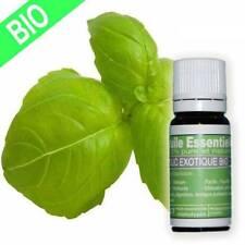 Huile essentielle certifiée HECT Basilic Exotique Bio 10 ml Envoi express suivi