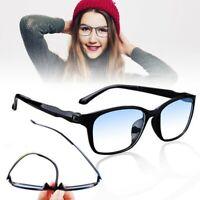 Unisex Progressive Multifocal Reading Eye Glasses Anti Blue Light Lens Frame