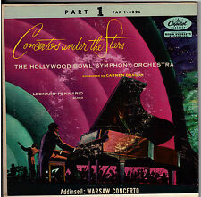 """HOLLYWOOD BOWL ORCH! - """"CONCERT UNDER STARS"""" CAPITOL EAP-8326 4 RECORD SET EX!"""