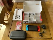 Nintendo Switch Console V2 + FIFA20 + Orzly Case! *2 Months Old* Grade A+++