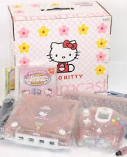 Sega Dreamcast Hello Kitty Pink Console