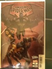 The Amazing Spiderman #9 (2018) LGY#810 Variant Uncanny X-Men Cover Marvel Comic