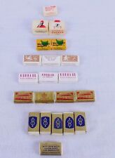 21 Vtg Wrapped Sugar Cubes Zucker Advertising European Germany NCO Lee Barracks