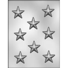 """Star 1.75"""" Pieces Chocolate Candy Mold - Shapes, Christmas, Holiday"""