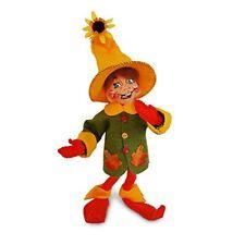 "AUTUMN LEAF ELF Thanksgiving Halloween Annalee 2017 Poseable Decoration 10"""