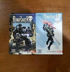 The Punisher: War Machine Vol. 1 & 2 SET TPB GN OOP UNREAD 2018 Marvel Rosenberg