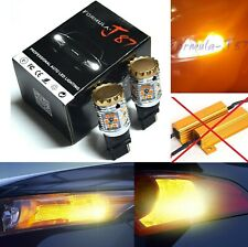 Hyper Flash Free LED Light 3156 Amber Orange Two Bulbs Rear Turn Signal Upgrade