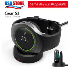 Qi Wireless Charger Dock For Samsung Gear S3 Classic / Frontier Charging Cradle