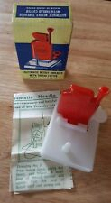 VINTAGE AUTOMATIC NEEDLE THREADER WITH THREAD CUTTER IN ORIG BOX directions