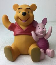 Disney Winnie The Pooh & Piglet Hard Plastic Piggy Bank