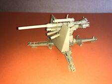 VINTAGE tamiya 1/35 German WW2 88mm antitank gun built Up Desert Tan