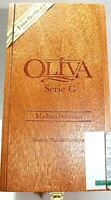 Wood Cigar Box Oliva Maduro Selection Serie G 8 x 4 x 4 Hinge Top Storage Crafts