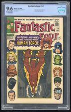 Fantastic Four #54 (Marvel 9/66) CBCS 9.6 NM+ 3rd app Black Panther; Silver Age