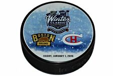 2016 NHL Winter Classic Dueling Style Puck- Boston Bruins vs Montreal Canadiens