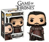 FUNKO POP TV - GAME OF THRONES - JON SNOW - FIGUR - NEU/OVP