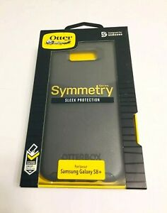 OtterBox Symmetry Series Case/Cover For Samsung Galaxy S8+Plus in BLACK Colors