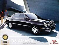 2006 Kia Amanti 20-page Original Car Sales Brochure Catalog