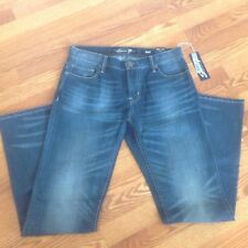 Women's Seven7 Jeans Size 32 X 34 Moderately Distressed Boot Cut NWT