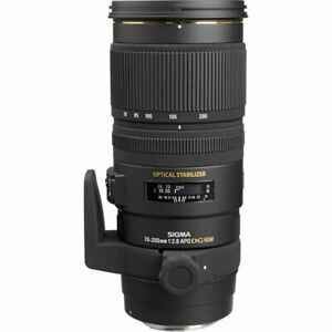 Sigma 70-200mm F2.8 APO EX DG OS HSM - Canon EOS Fit (UK Stock) Ex. Display