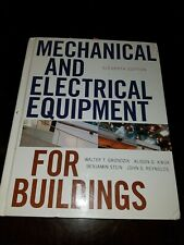 Mechanical and Electrical Equipment for Buildings 11th Edition HardbackTextBook