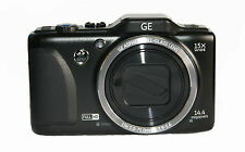 GE GENERAL IMAGING G100 14.4MP DIGITAL CAMERA - BLACK - FAULTY