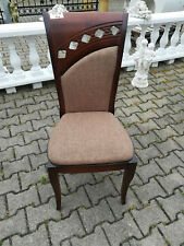 Chair Designer Textile Pads Lehn Chairs Chesterfield Living Dining Room New