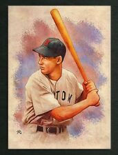 ACEO 2015 TED WILLIAMS BRS 4/25 Limited Hand Drawn Art Sketch Card Artist Signed