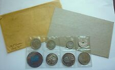 1965 Greece - First Official Proof Set (7) w/ Silver 20 Drachmai - Rare Beauty!