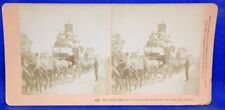 Great Tally-ho Carnival for Beauty Stagecoaches & Ladies Kilburn Stereoview