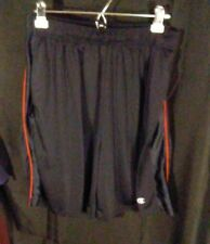 Vintage Champion Men's Athletic Basketball Gym Shorts Black w/ Red Stripe sz Xxl