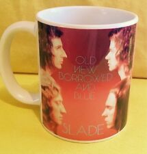 SLADE 'OLD NEW BORROWED AND BLUE' 1974- ALBUM COVER-ON A MUG.