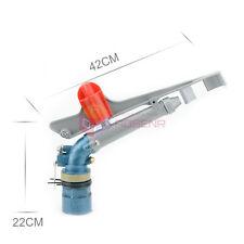 "2"" Lawn Irrigation Sprinkler Water System 360° Adjustable Rain  Impact Spray Gun"