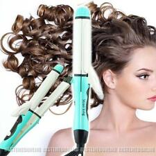 2017 SALE 50% 2in1 Hair Straightener Curler Flat Iron Ceramic Iron Wave Wand FDA