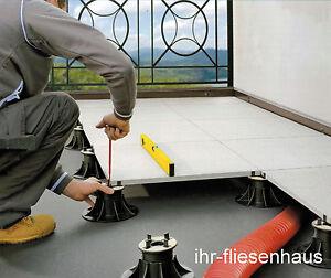Stelzlager Plattenlager höhenverstellbar NM1 - NM5 f. Terrassenplatten + Zubehör