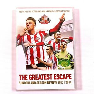 The Greatest Escape Sunderland Season Review 2013/2014 DVD new sealed Region all