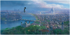 Disney Fine Art Limited Edition Canvas Practically Perfect-Mary Poppins
