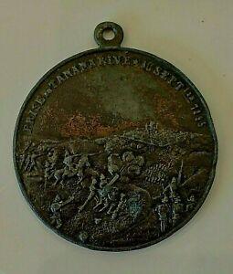 Médaille en étain Prise de Tananarive Conquête France Madagascar Protectorat
