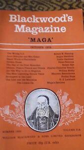 11 Blackwoods Magazine 'MAGA' 1972-1973