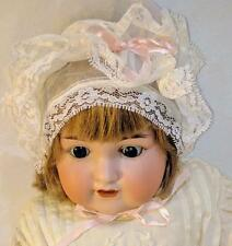 "LM Antique Armand Marseille 990 A. 10 M Bisque Composition 20"" Jointed Baby Doll"