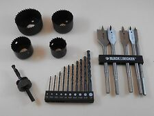 Black & Decker Drill Bit Set