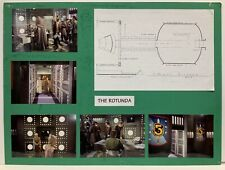 Babylon 5 The Rotunda Set Design Storyboard Used In Production