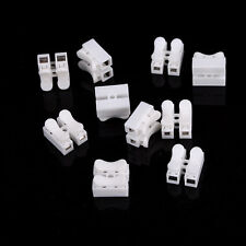 10X Electrical Cable Connectors Quick Splice Lock Wire Terminals Self Locking YC
