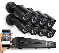 Amcrest 1080P HDCVI 8CH CCTV Security System - 8x 2.1 MP Bullet Cameras 2TB HDD