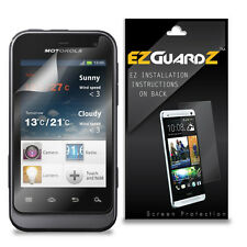 5X EZguardz LCD Screen Protector Skin Shield HD 5X For Motorola Defy Mini XT320