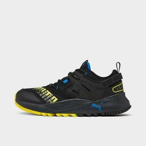 PUMA PACER FUTURE TRAIL CASUAL MEN'S SHOE BLACK - YELLOW - BLUE AUTHENTIC NEW US