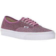 412666ca374 VANS Lurex Pink Glitter Size 6 Ladies