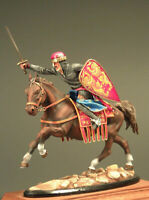 Painted Tin Toy Soldier Richard the Lionheart 54mm 1/32